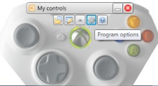 Program options menu item