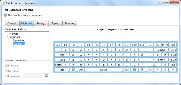 Using Keysticks controls - Keysticks Help