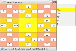 Spring grid keyboard